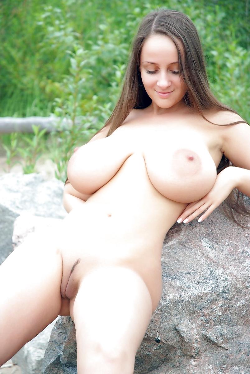 Perfekte Natürliche Titten