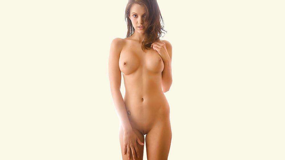 Teen hat wunderschönen Körper mit perfekte Gestalt